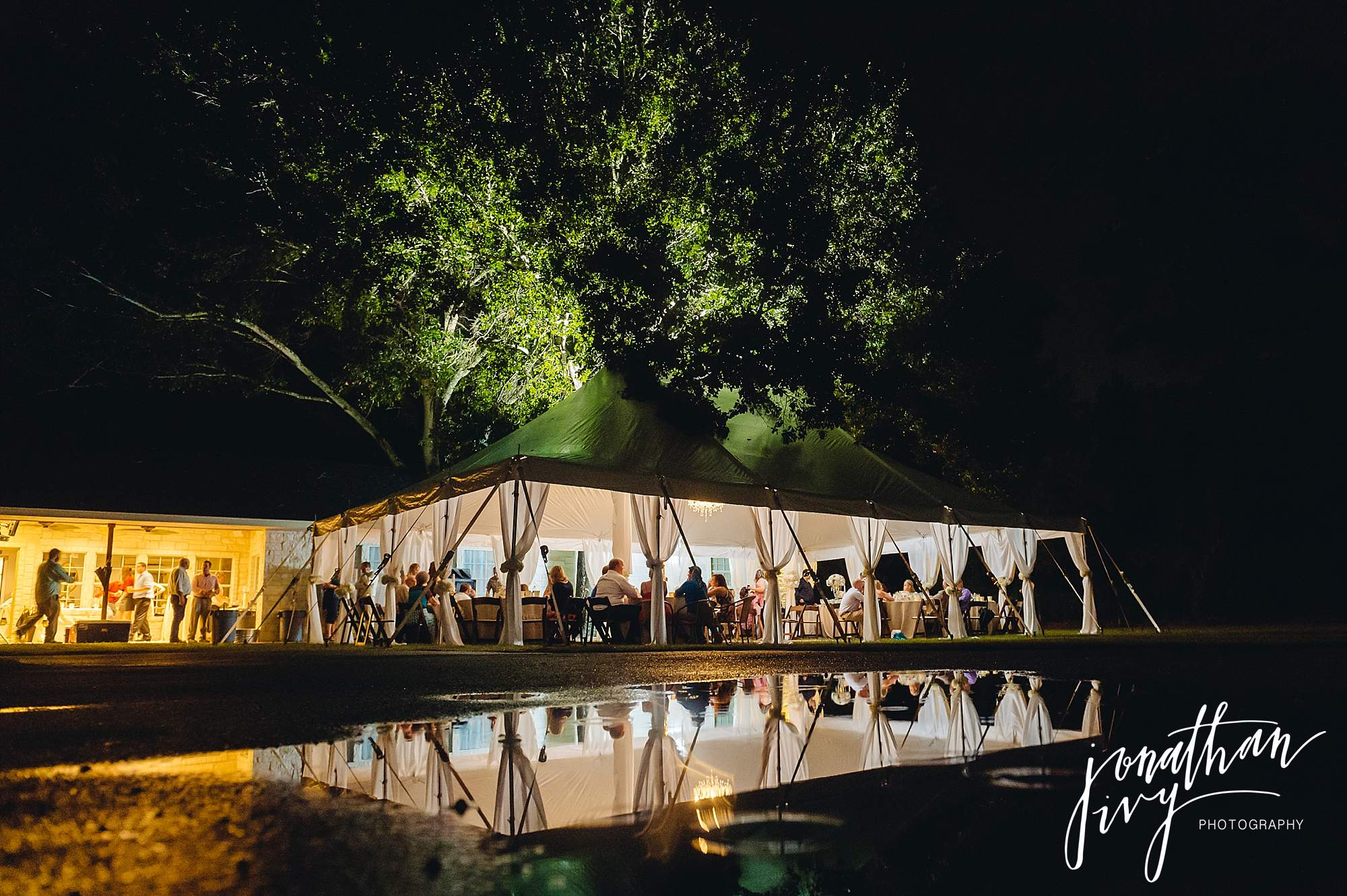 Outdoor Tented Wedding Houston