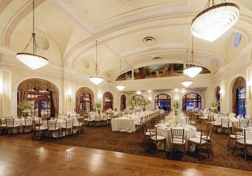 Crystal Ballroom Wedding Houston