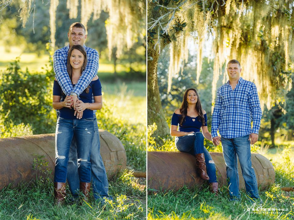 rustic barn engagement houston
