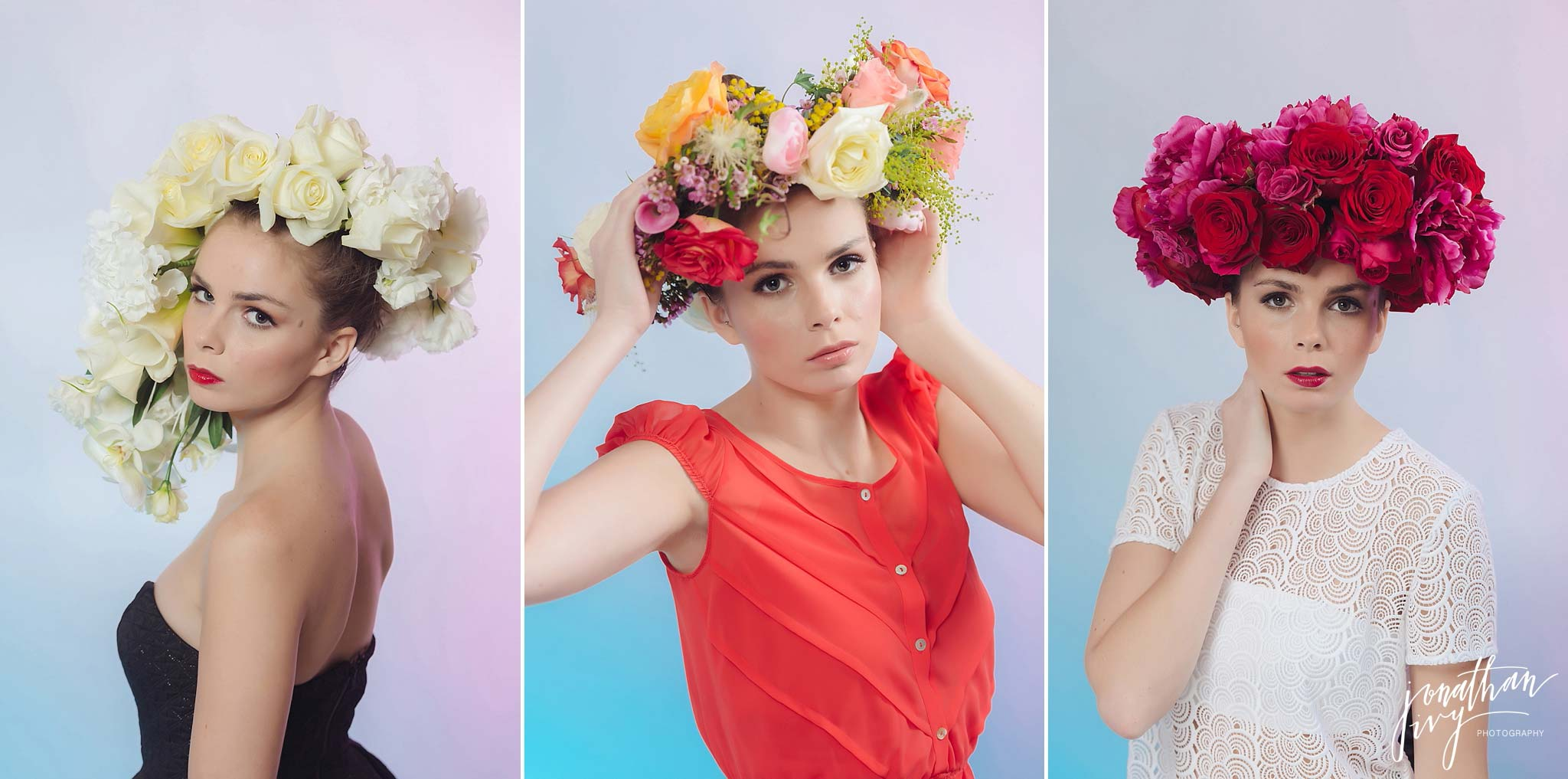 floral hairpieces floral crown