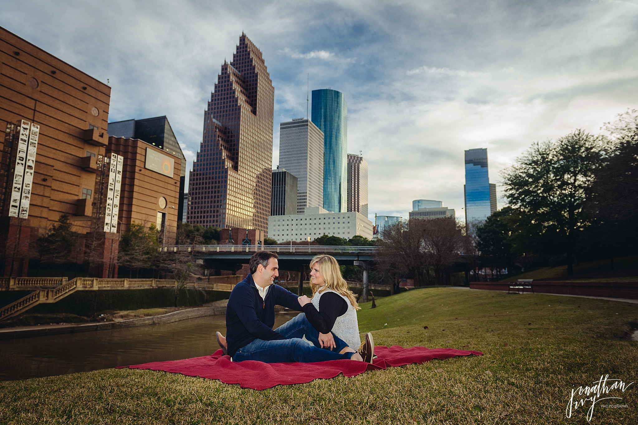 Engagement Photographer Houston