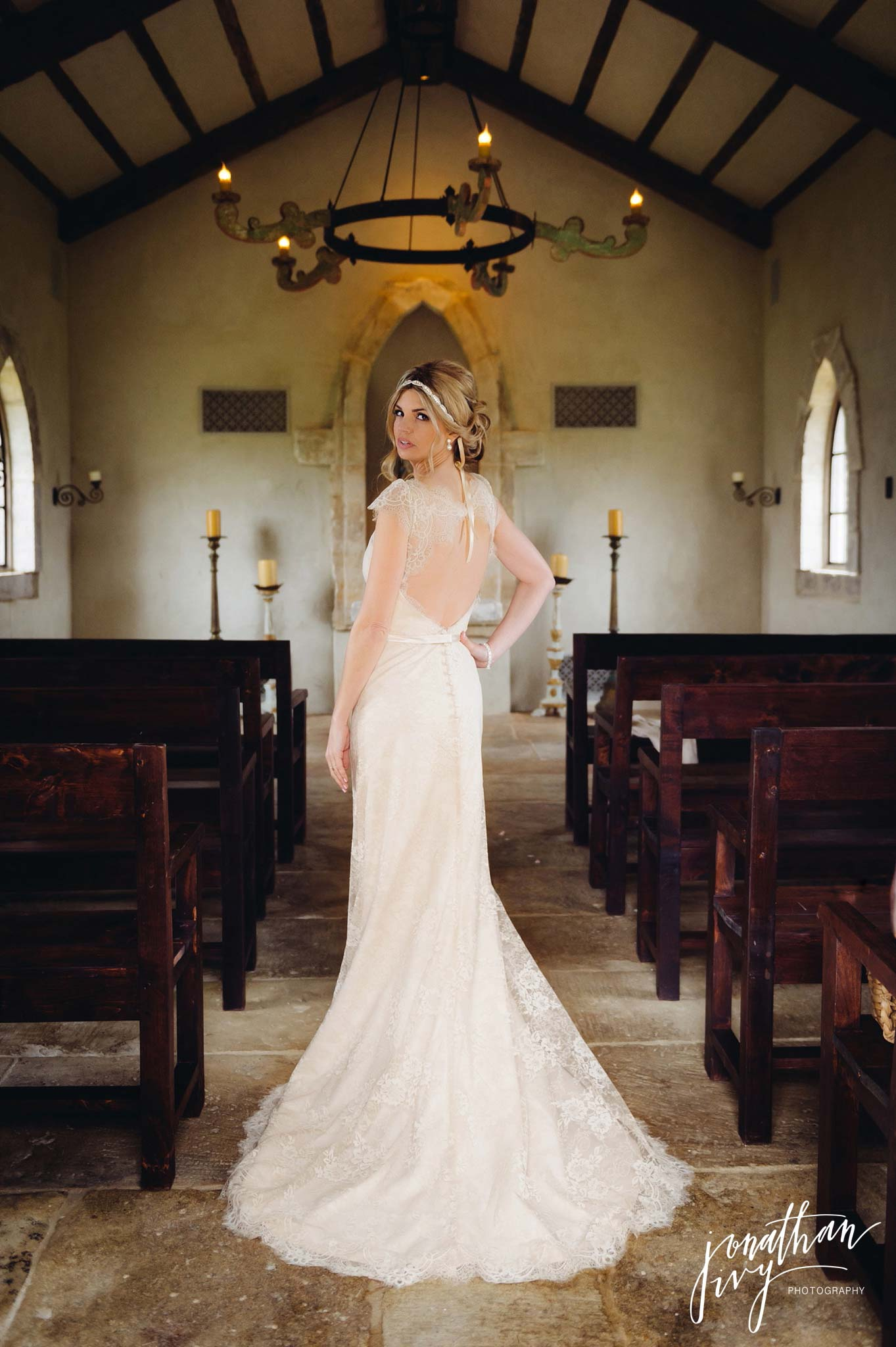 Houston Oaks Chapel Wedding