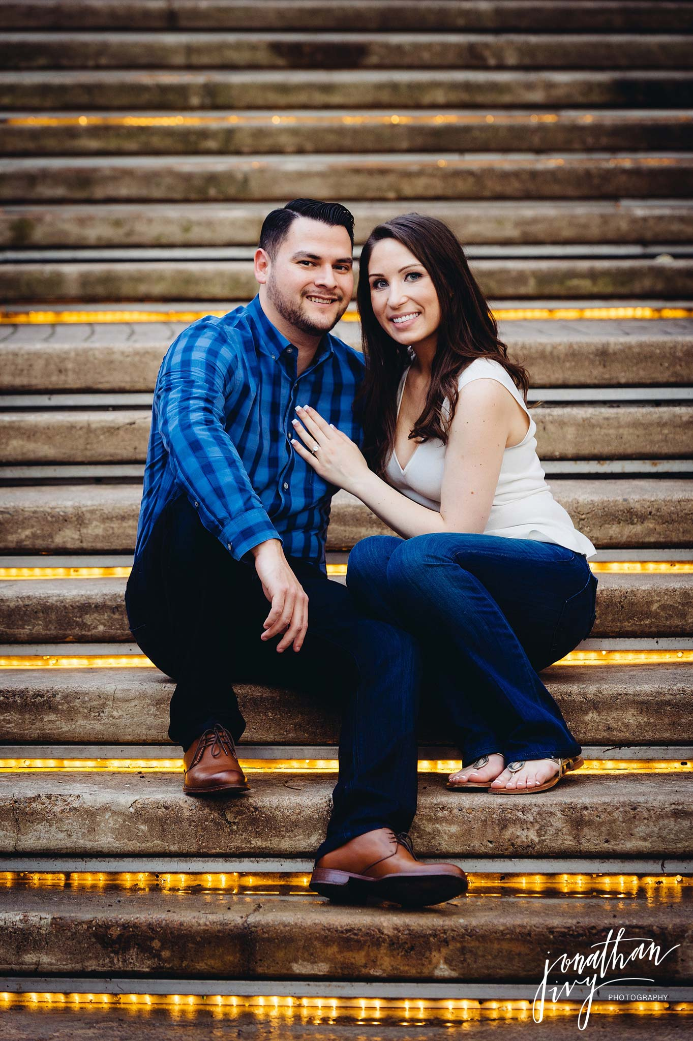 Houston Engagement on Buffalo Bayou