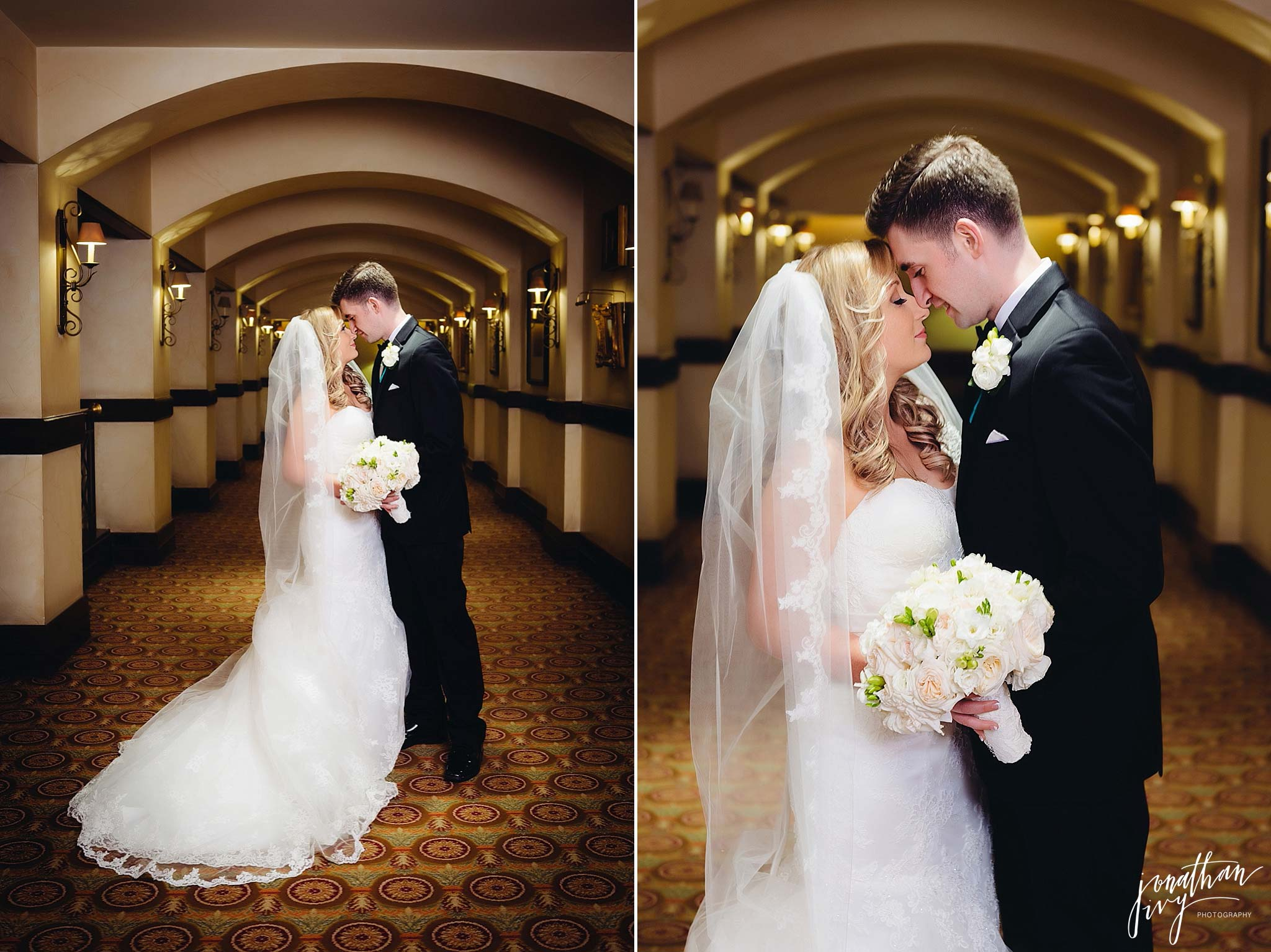 Wedding at the Houstonian Hotel
