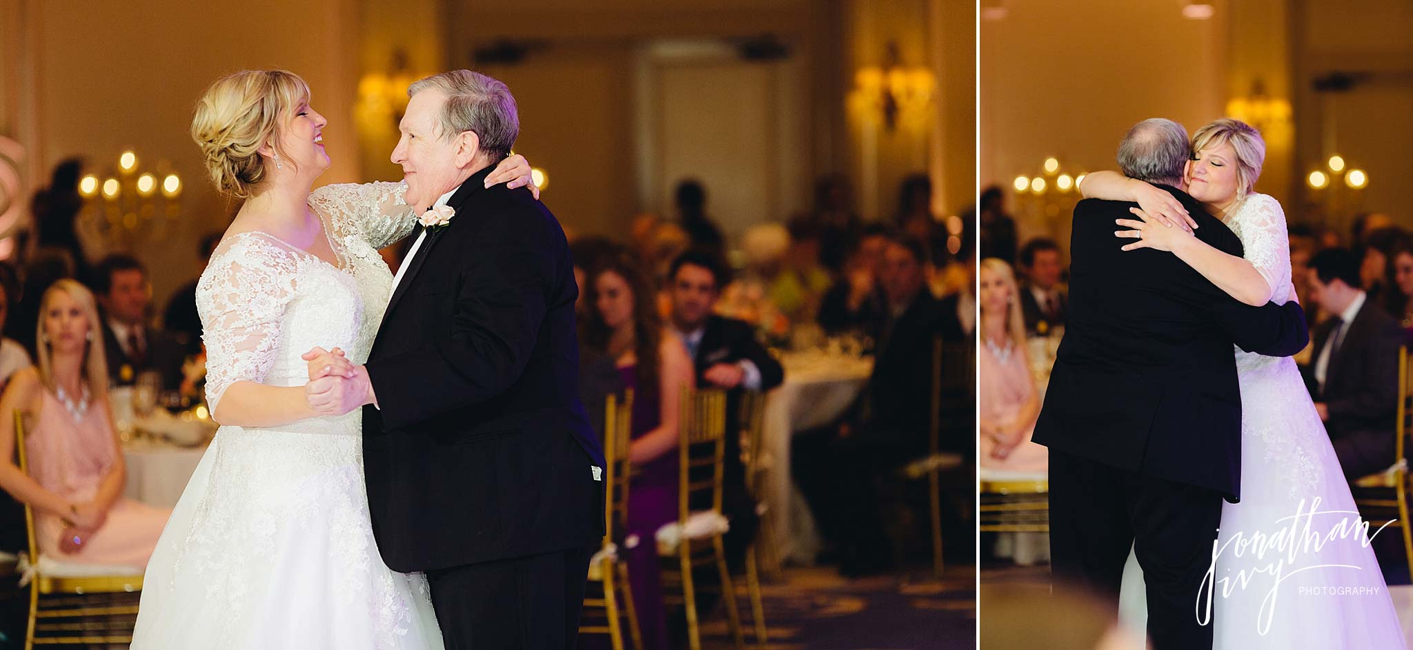 The Houstonian Hotel Wedding in the Grande Ballroom