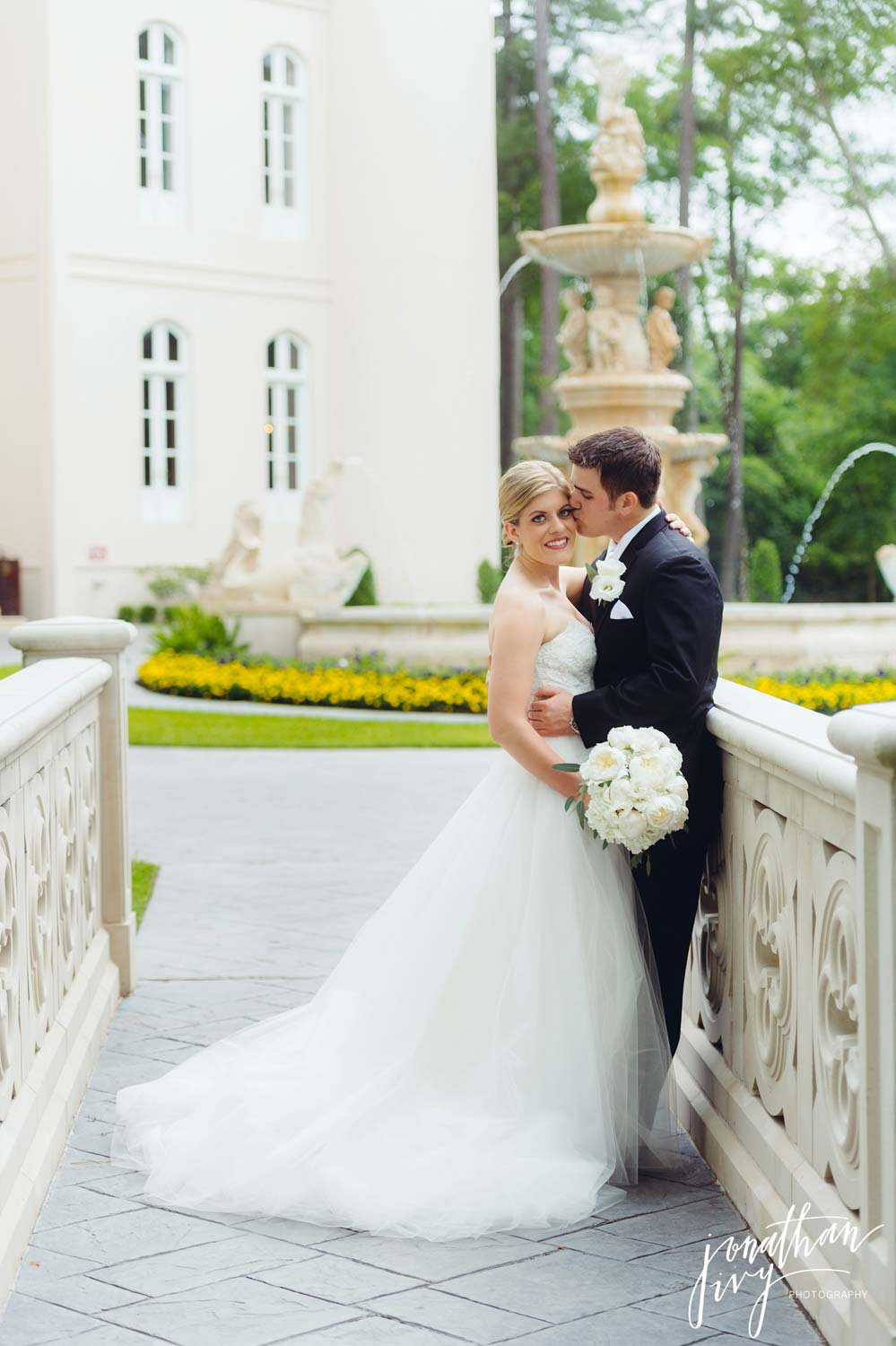 Wedding at Chateau Cocomar in Houston