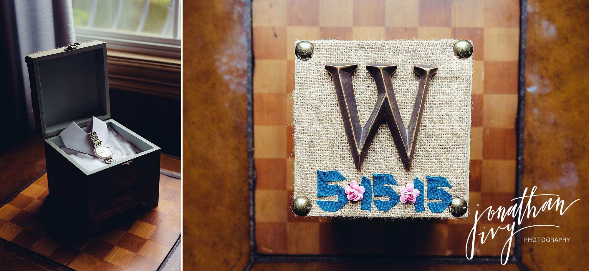 custom box brides gift from groom