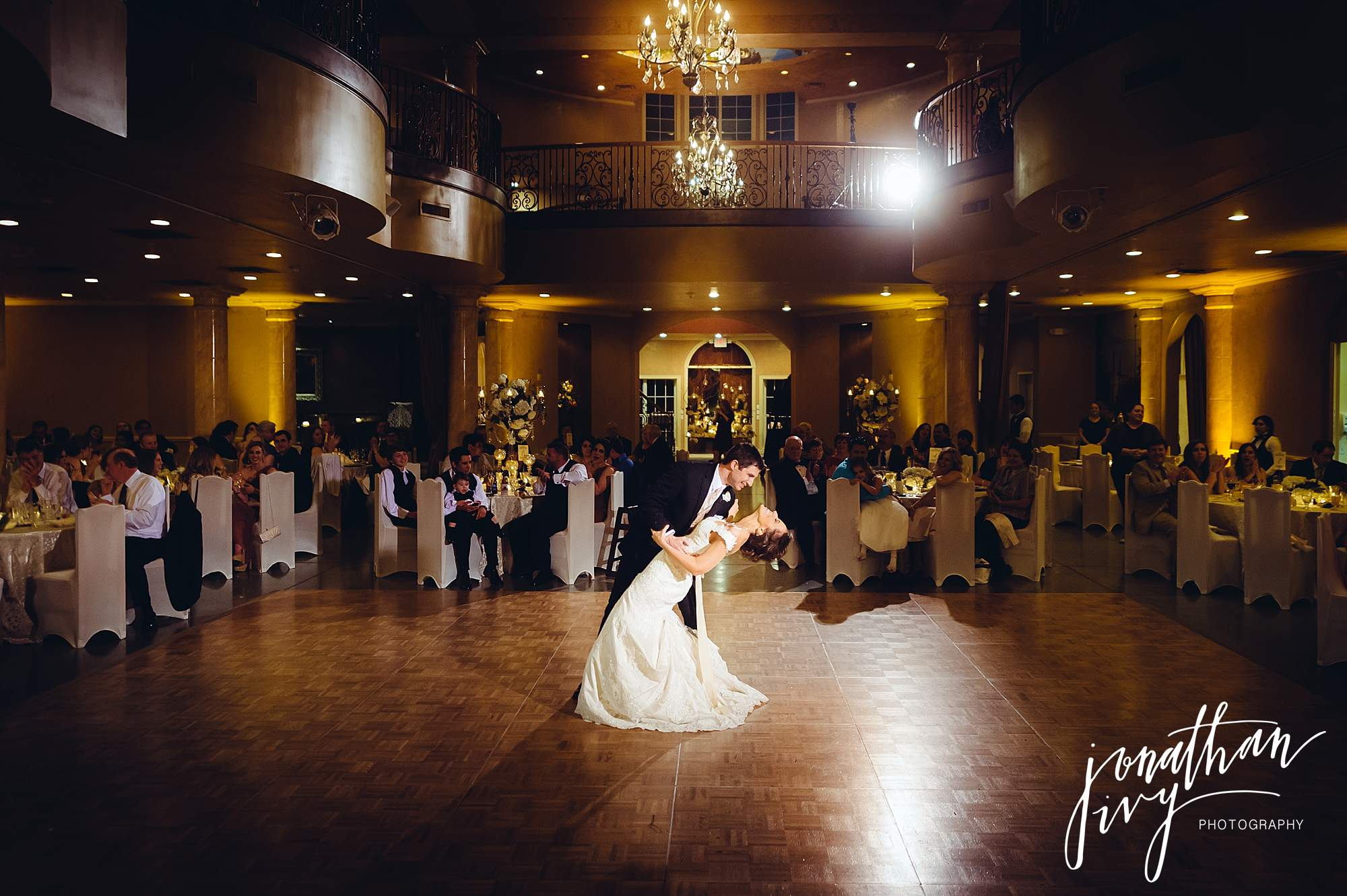 Chateau Polonez First Dance Bride and Groom