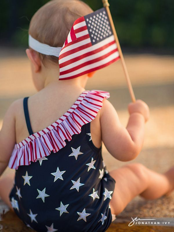 4th of July Baby Photo