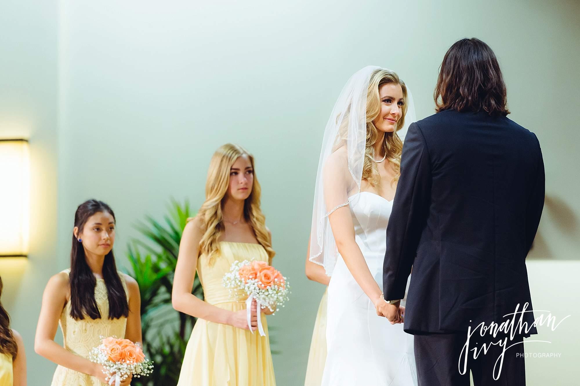 Intimate Backyard Wedding in Houston