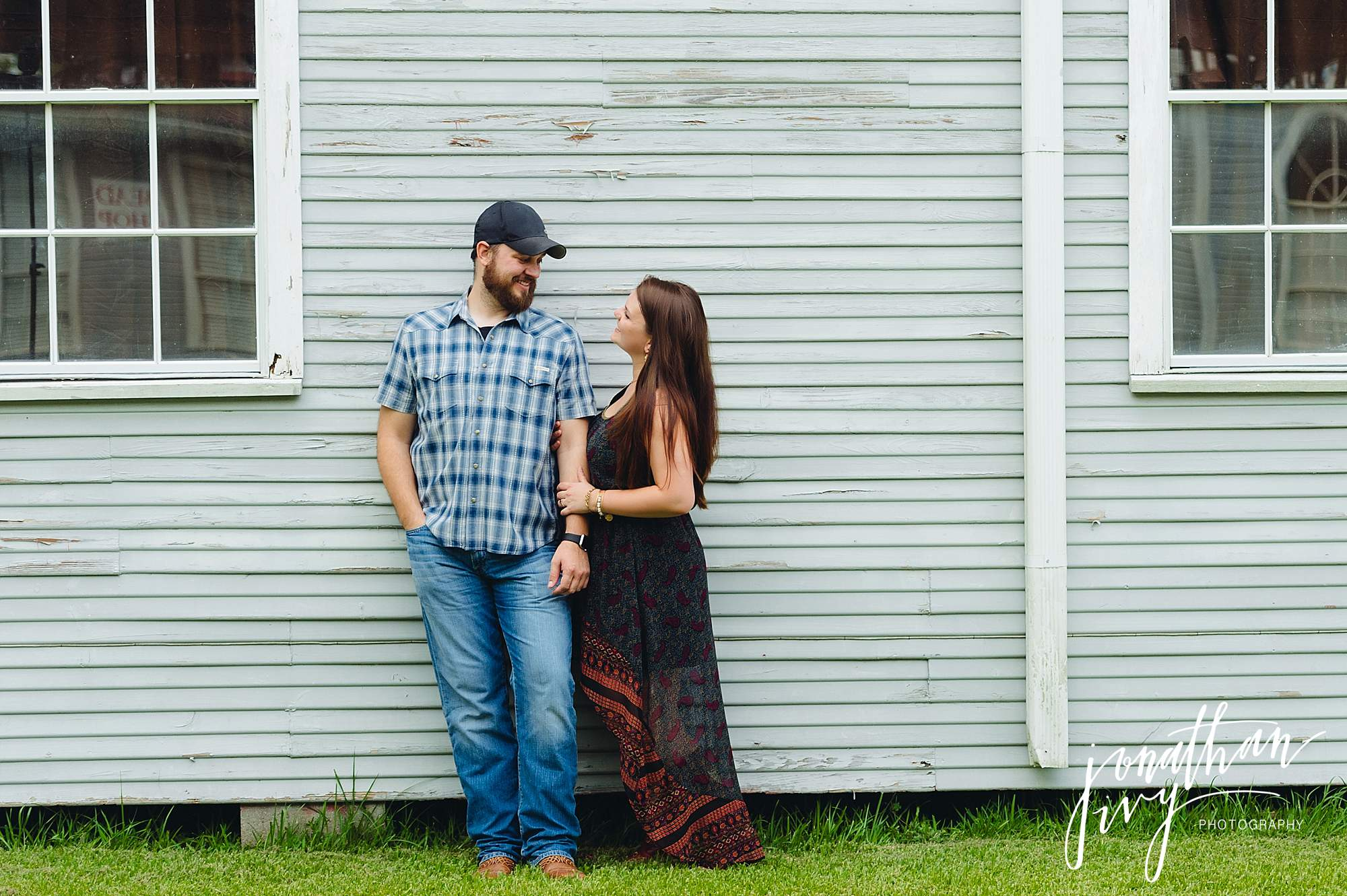 Old Town Spring Engagement Photos