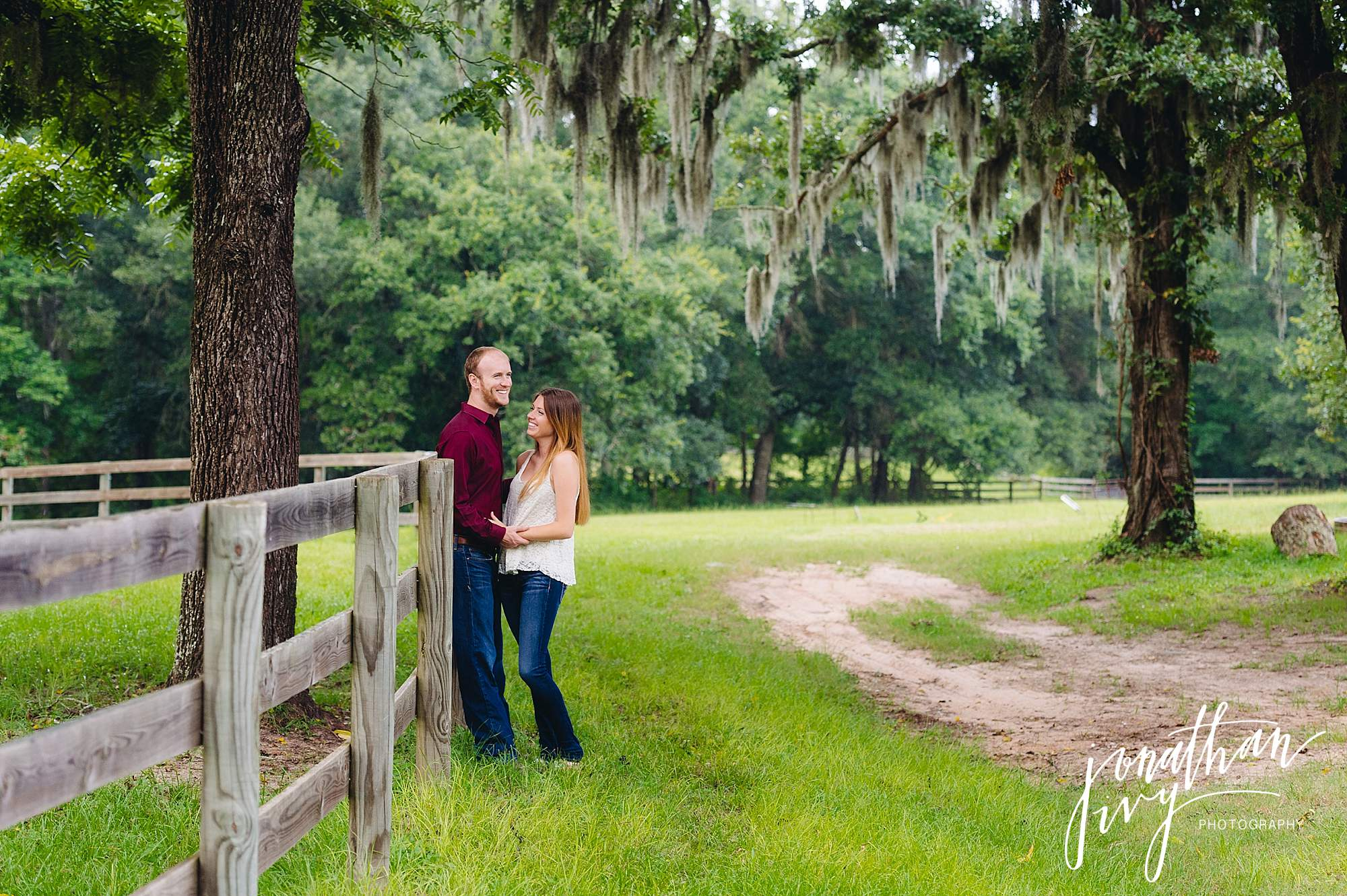 Country Rustic Engagement Photos