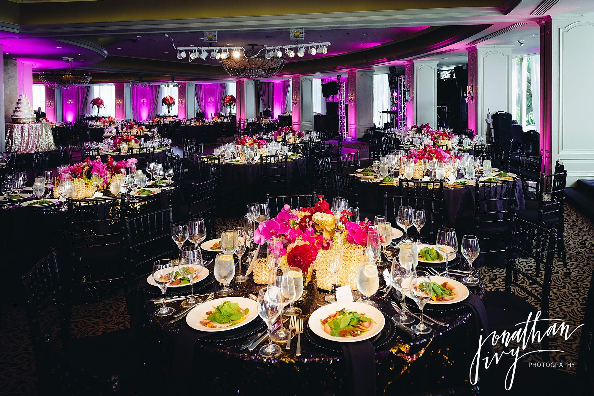 Houston Wedding Reception at Hotel Zaza