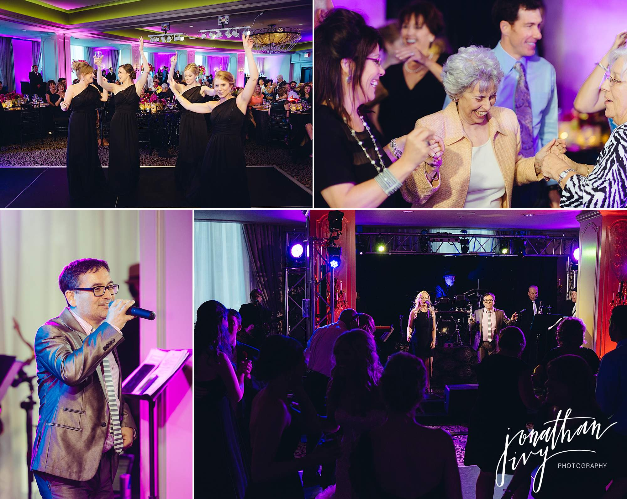 The Pictures Wedding Band Austin Hotel Zaza