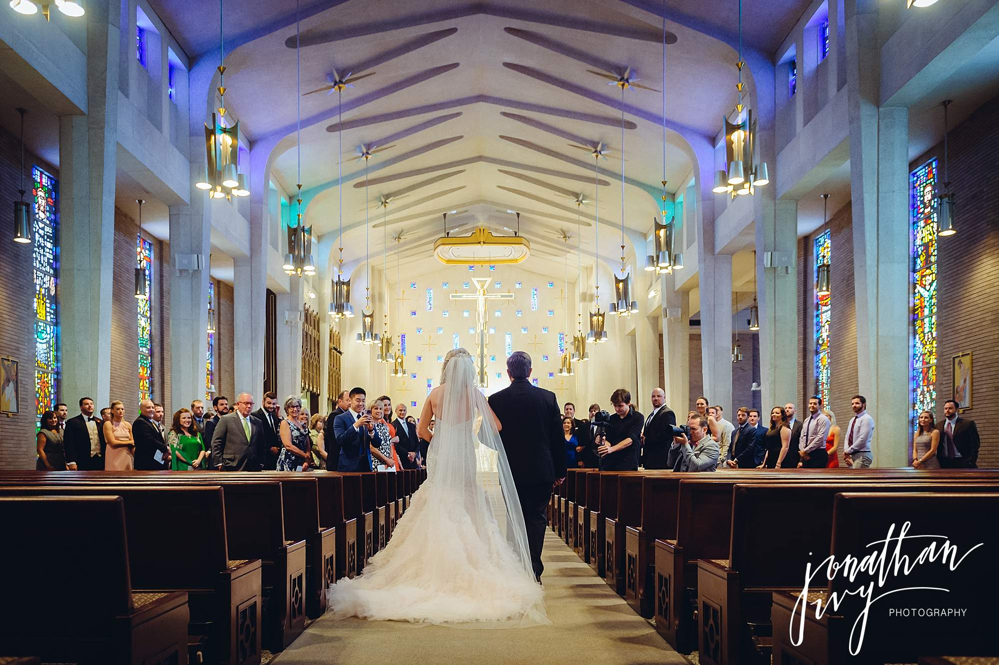 St Michaels Catholic Church Houston Wedding