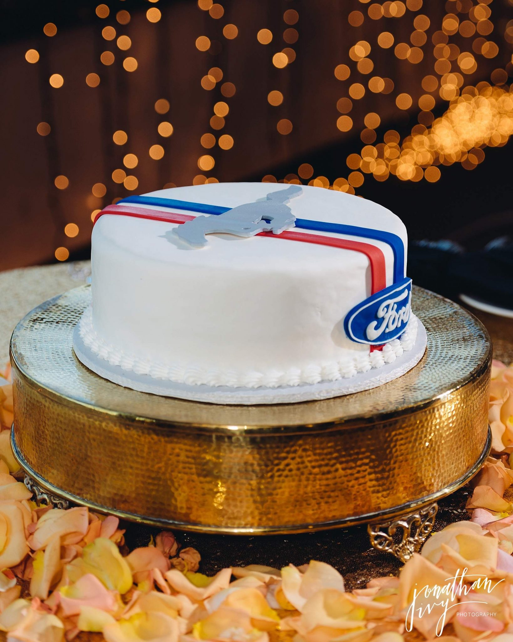 Ford Mustang Grooms Cake