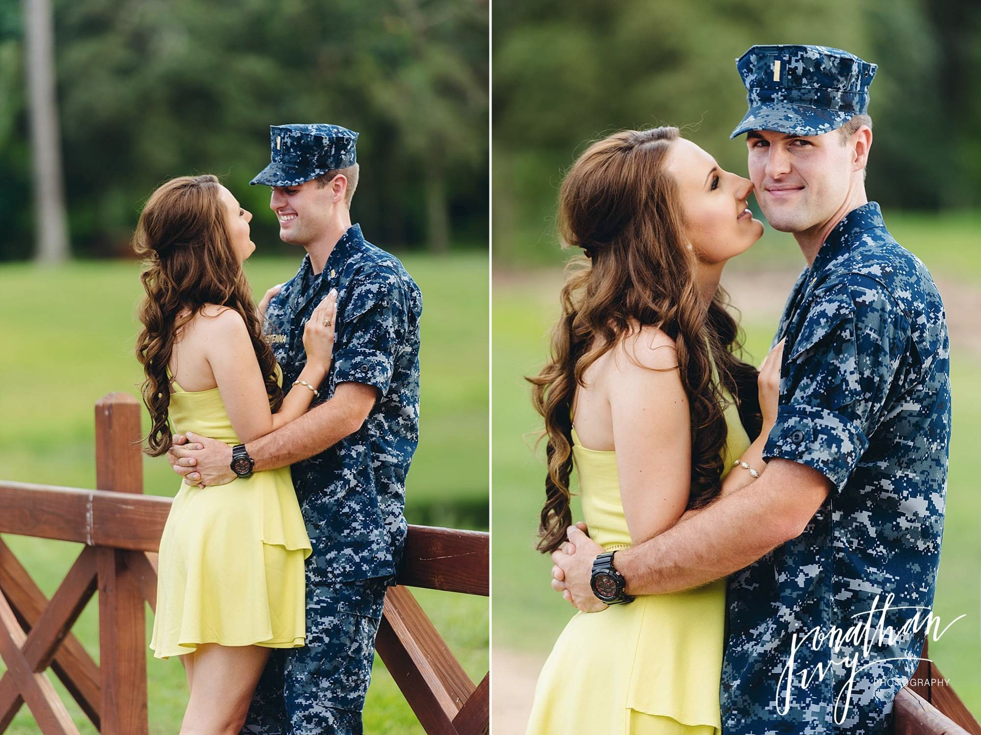 Navy Themed Engagements with NYUs