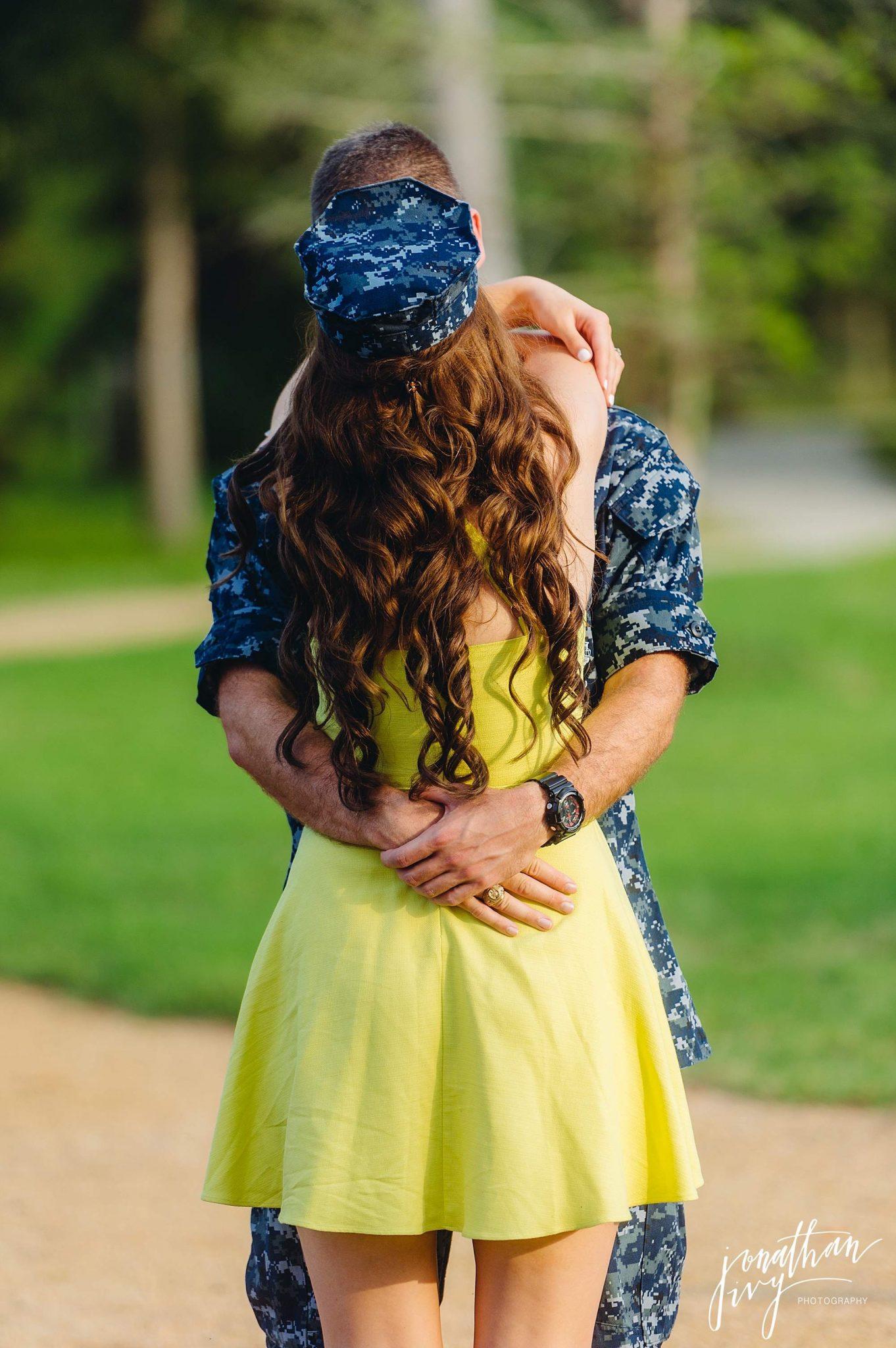 Romantic engagment photos with NYUs