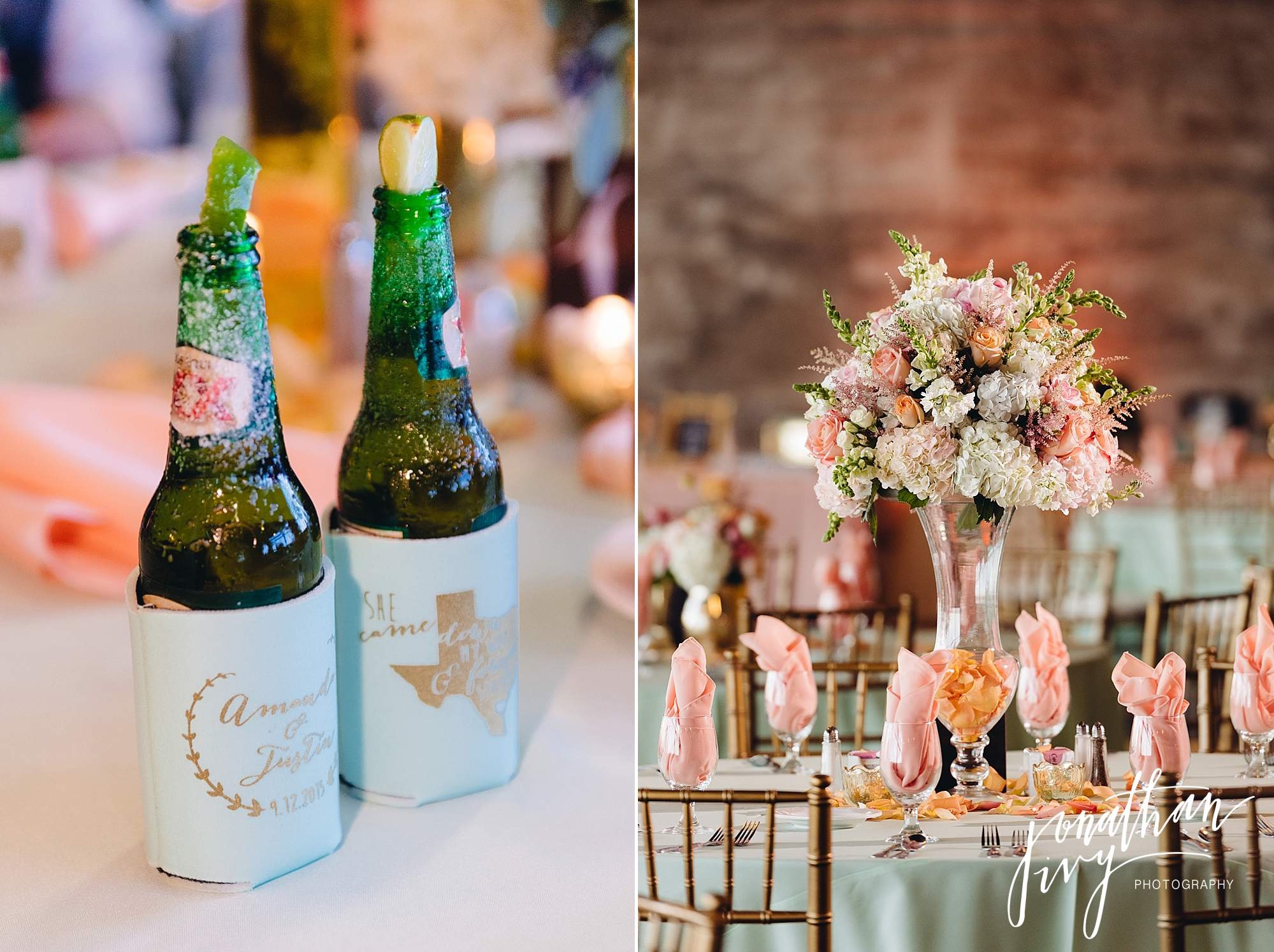 custom beer booze wedding