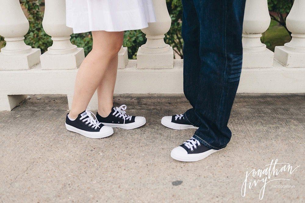 Chuck taylor engagement shoes