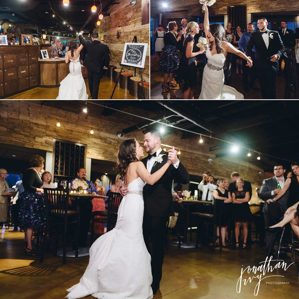 Crush Wine Bar Wedding Reception
