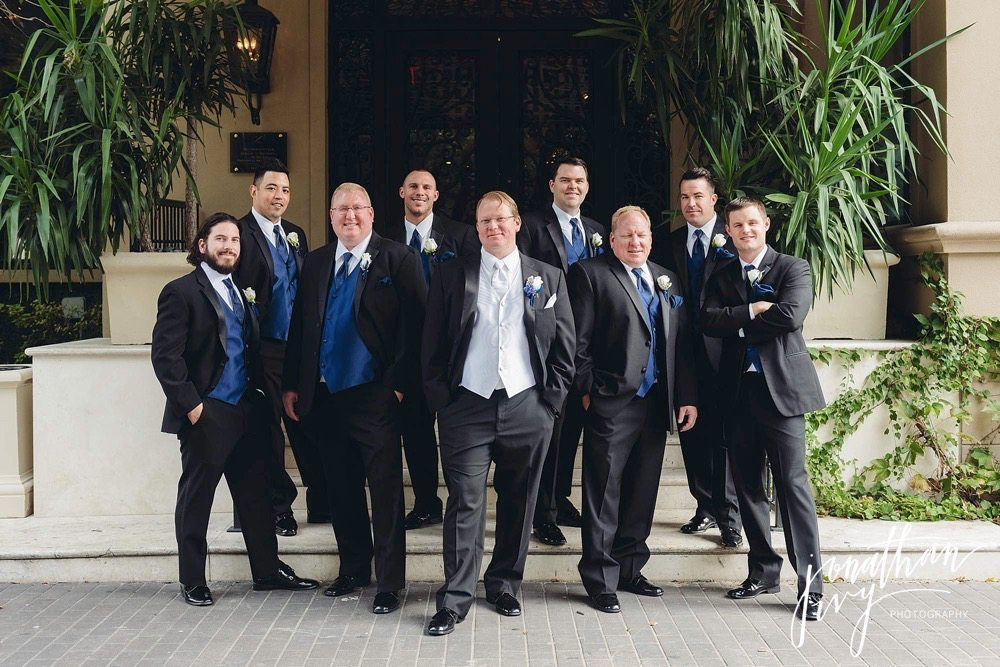 Groomsmen Hotel Zaza Houston