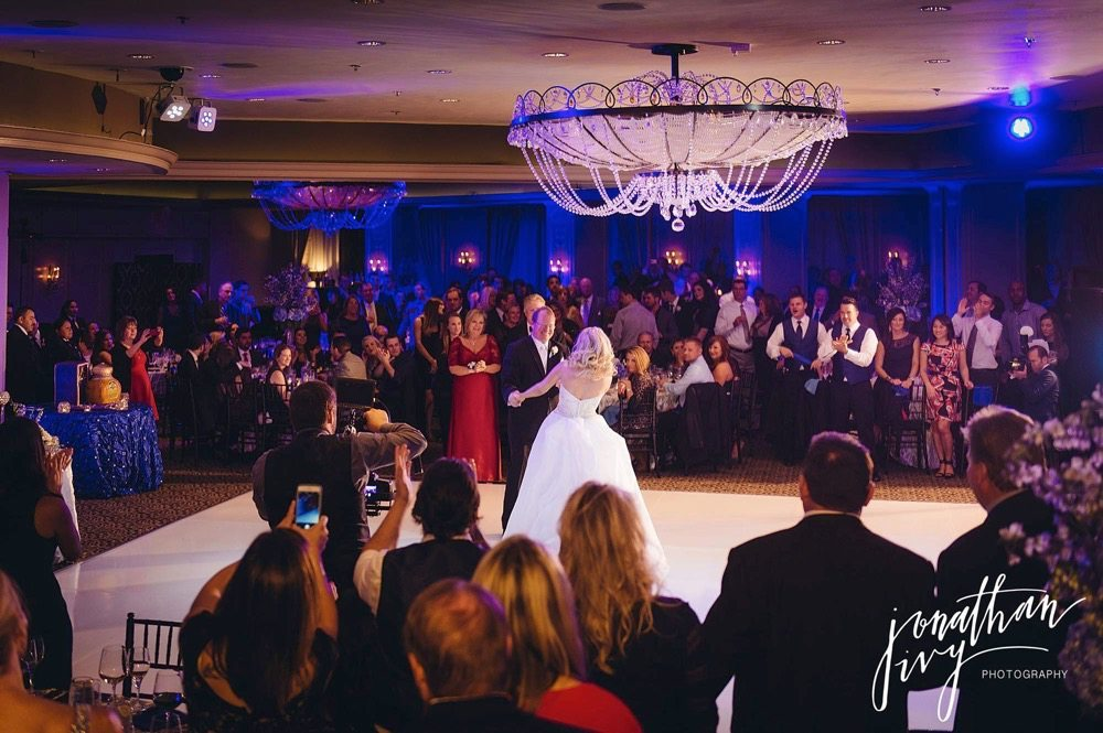 Hotel Zaza Houston Phantom Ballroom Wedding Reception
