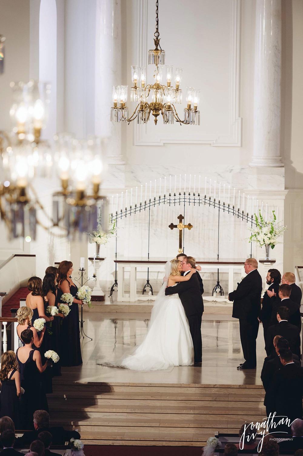 Houston First Presbyterian Church Wedding