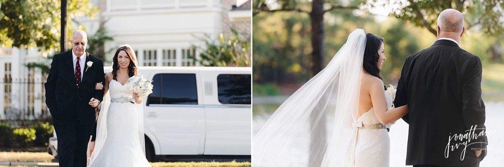 Outdoor Wedding The Woodlands Texas