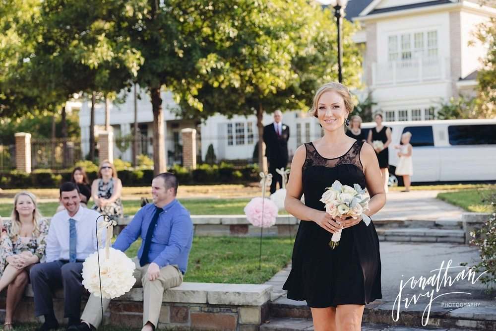 Outdoor Wedding in The Woodlands