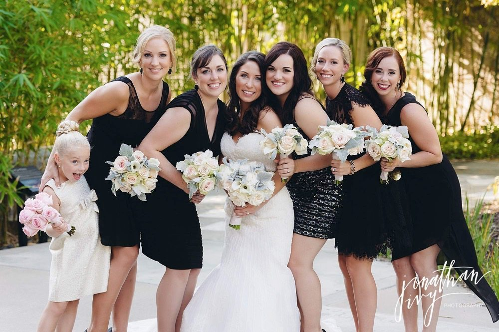 The Woodlands Waterway Bridesmaids