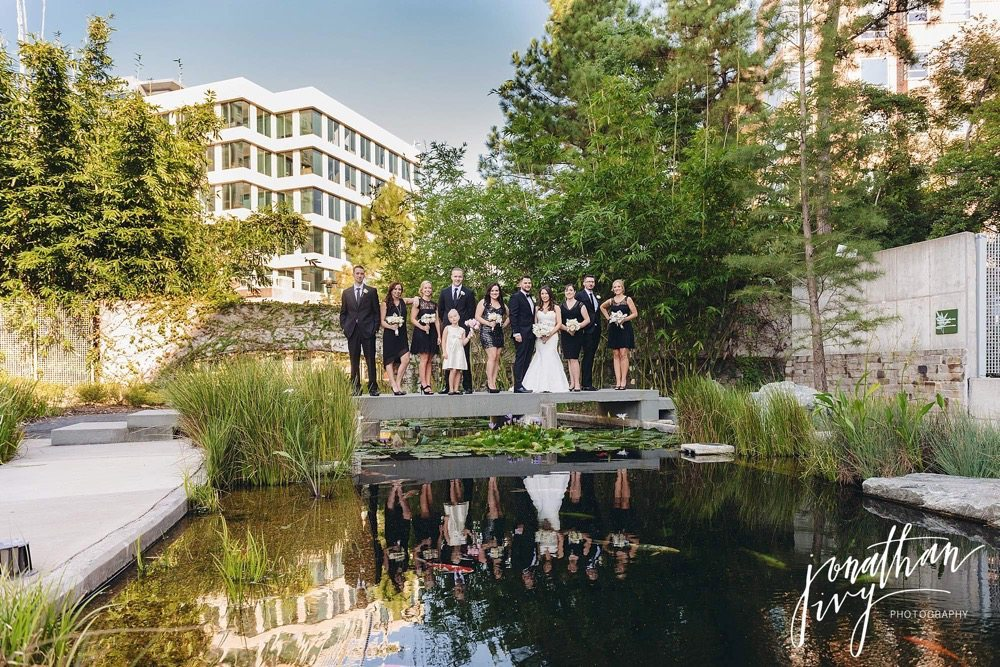 The woodlands wedding photographer burke wedding for Koi pond the woodlands tx