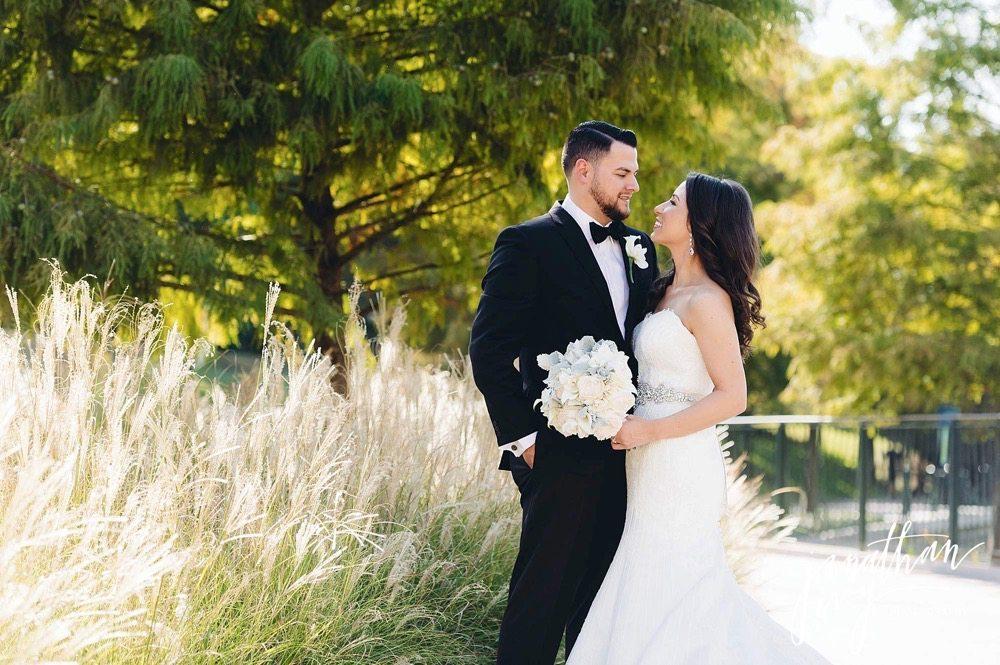 Wedding at The Woodlands Waterway Marriott Hotel