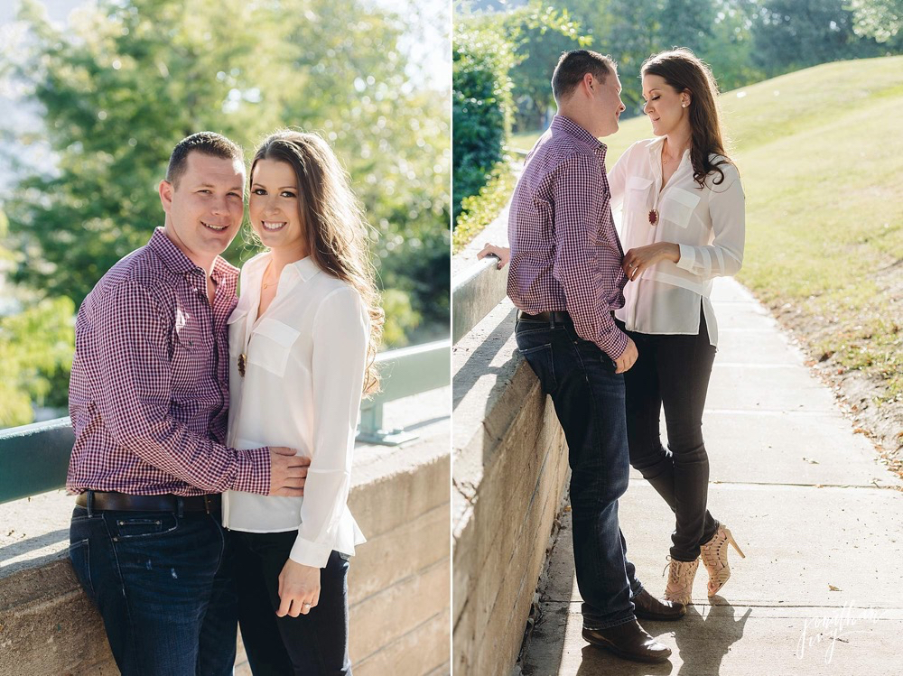buffalo bayou engagement houston