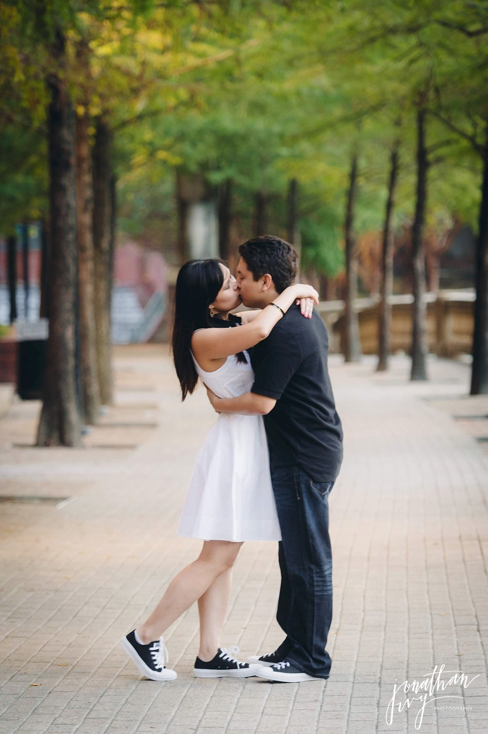 fall engagement in houston texas