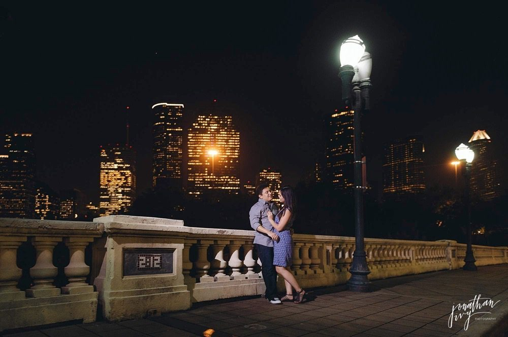 sabine st bridge engagement
