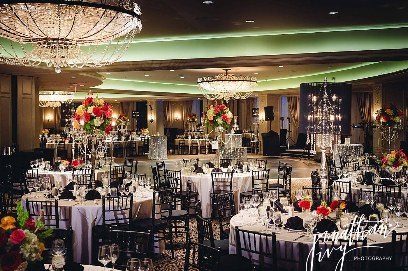 Hotel Zaza Houston Phantom Ballroom Reception