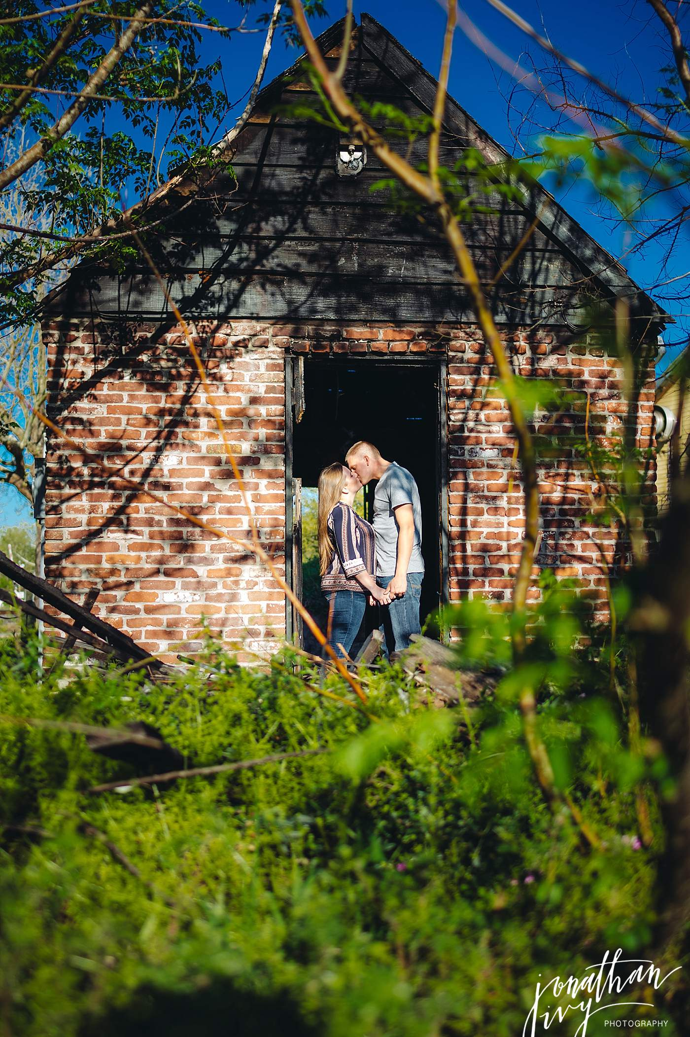 Old Town Spring Engagement