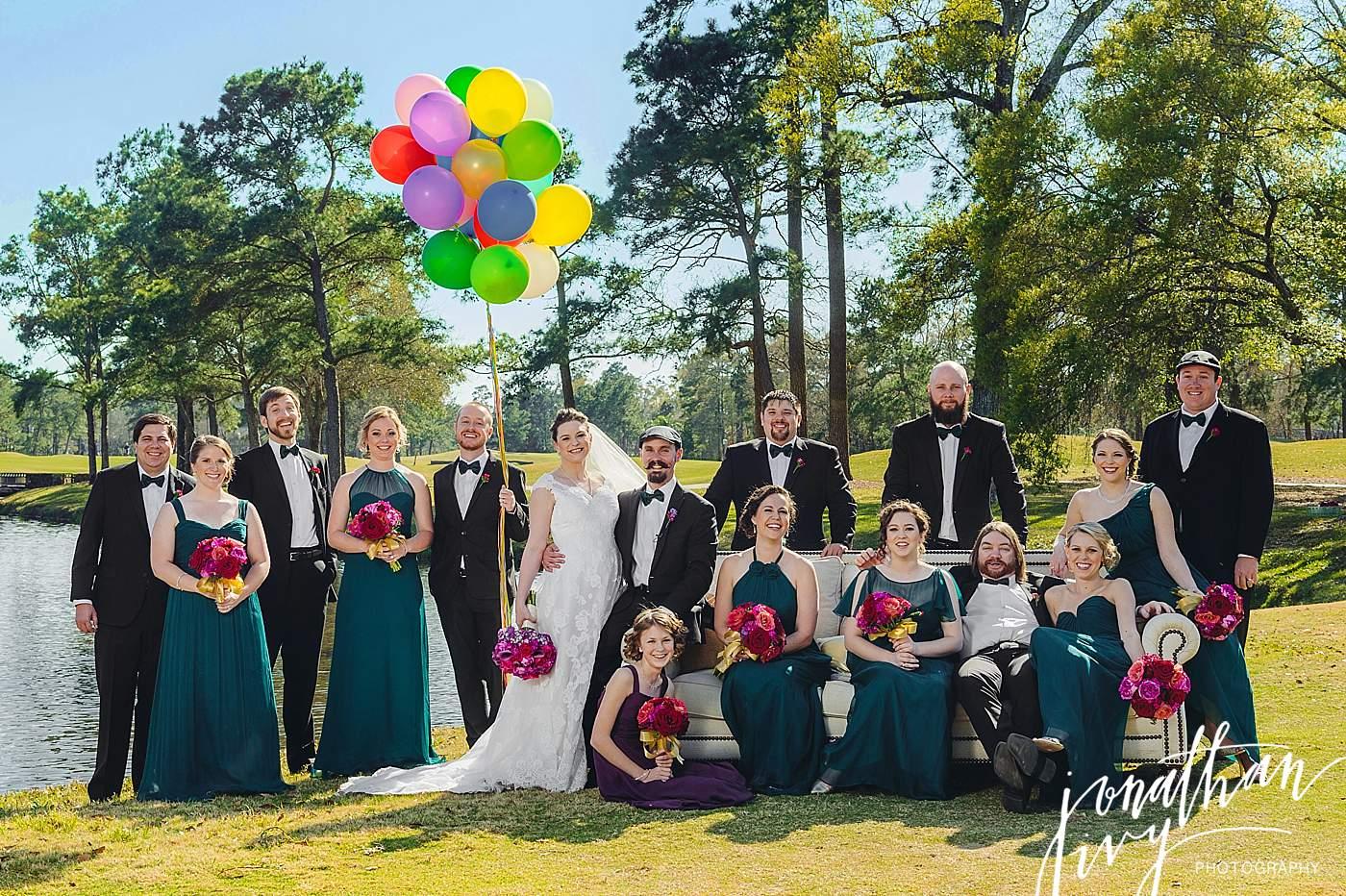 Up Themed Wedding Balloons