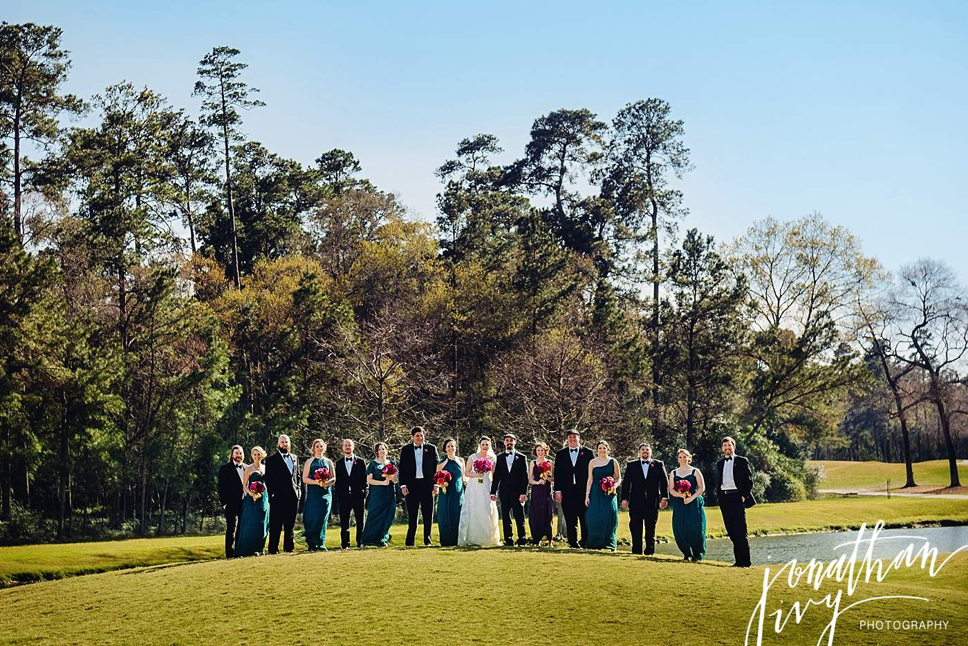Wedding at the Woodlands Country Club