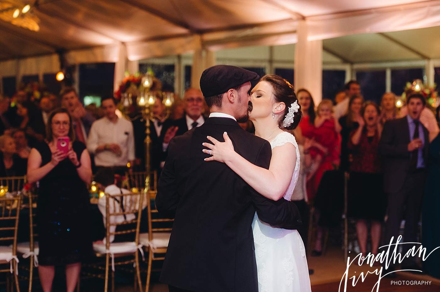 Tented Wedding at The Woodlands Country Club