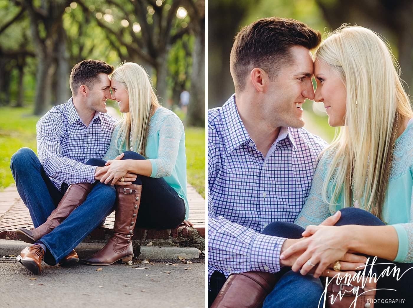 South Blvd Engagement Photos