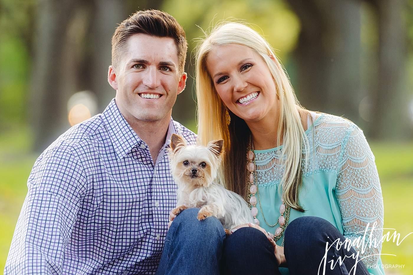 Puppy Engagement Photos
