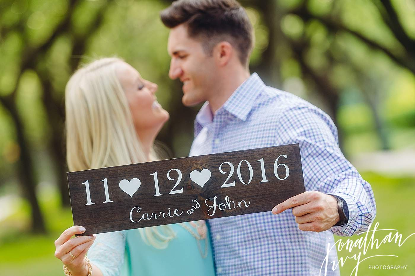 Engagement Sign for Photos