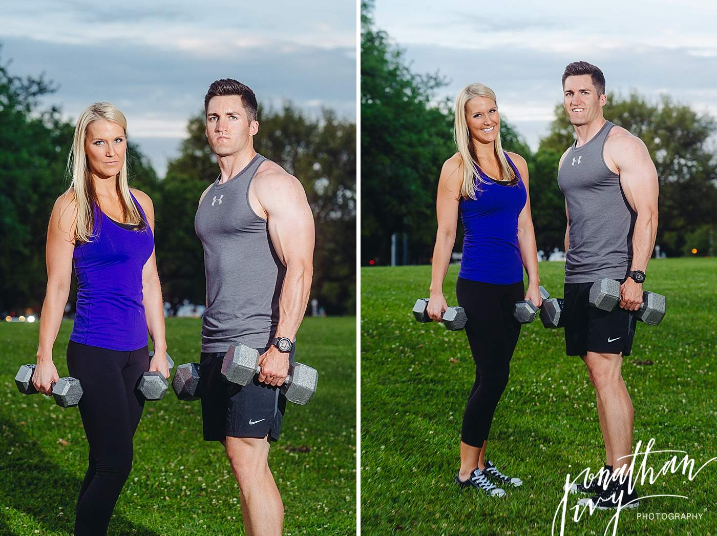 Fitness Engagement Photos