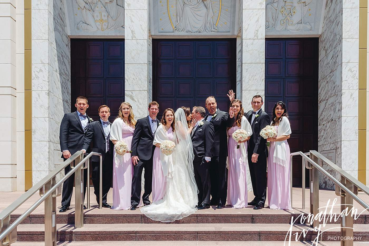 Wedding at Co-Cathedral of the Sacred Heart