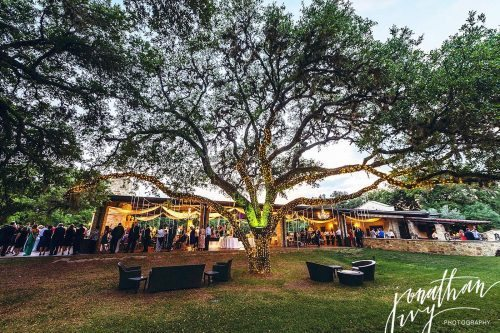 Houston Oaks Country Club Outdoor Reception