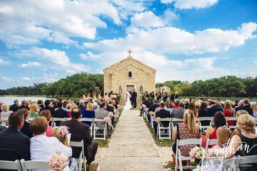 Houston Oaks Country Club Outdoor Wedding