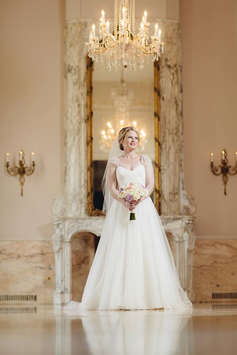 Chantilly Room Bridal Portrait