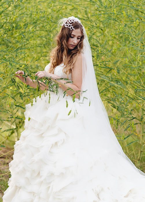 Outdoor Bridal Photos The Woodlands